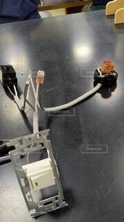 電気工事士の練習の写真・画像素材[4661353]