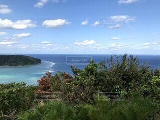 奄美大島の海と空の写真・画像素材[4674007]