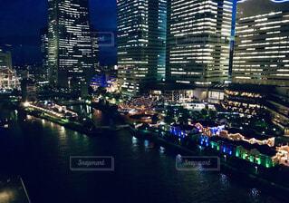 観覧車から見た夜景の写真・画像素材[4692944]