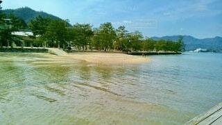 宮島の海の写真・画像素材[4800459]
