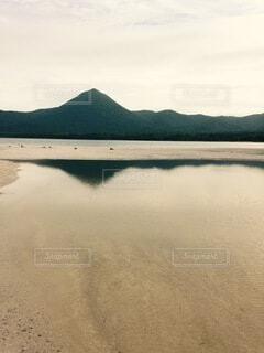 恐山 賽の河原の写真・画像素材[4684326]
