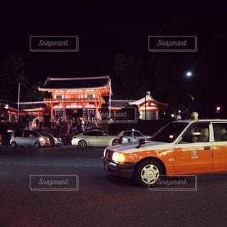 駐車場に駐車の写真・画像素材[843940]