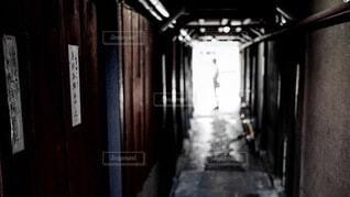 京都のタイムスリップ路地の写真・画像素材[4669896]