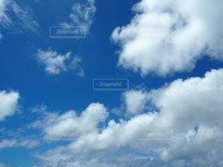 沖縄の青空の写真・画像素材[4676686]