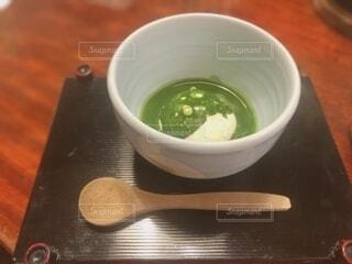 抹茶アイスの写真・画像素材[4682991]