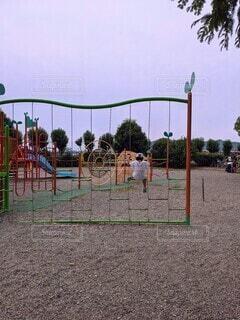 夏休みの公園の写真・画像素材[4710008]