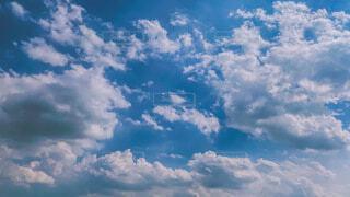 空と雲の写真・画像素材[4688430]
