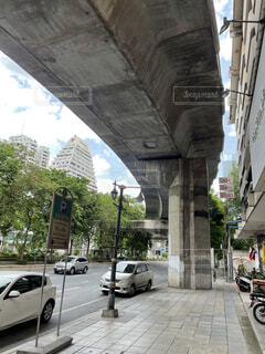 Silom in Bangkokの写真・画像素材[4709018]