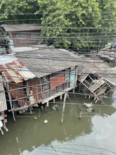 House on the liver in Bangkokの写真・画像素材[4760954]