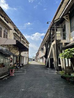 Charoen Krung road in Bangkokの写真・画像素材[4834171]