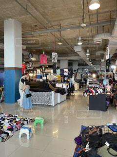 Chatuchak Market in Bangkokの写真・画像素材[4853352]