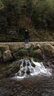 カメラ女子の写真・画像素材[299581]