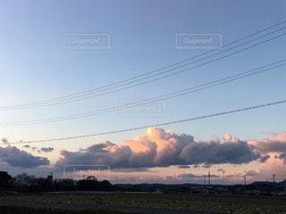 夕陽の写真・画像素材[338268]