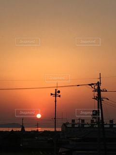 夕日の写真・画像素材[687014]