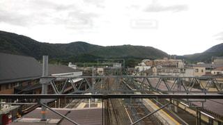 嵐山駅!の写真・画像素材[746440]