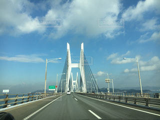 道路の上の橋の写真・画像素材[754145]