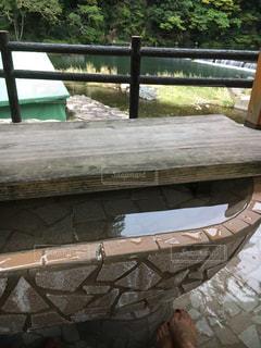 湯原温泉の足湯!の写真・画像素材[778448]