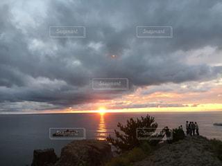海に沈む夕陽です!の写真・画像素材[791878]