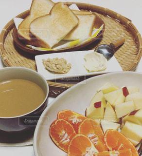 ある日の朝食の写真・画像素材[1635052]