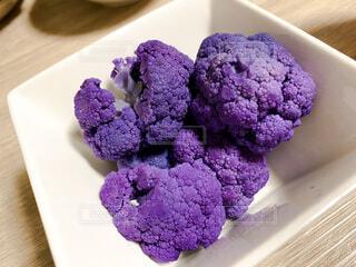 む、紫のブロッコリー!の写真・画像素材[4695510]