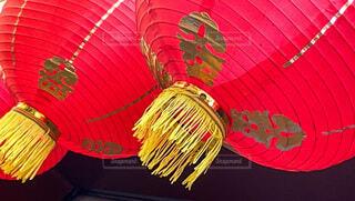 中華提灯の写真・画像素材[4852661]