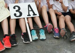 体育祭 3A  優勝 学校行事の写真・画像素材[4852663]