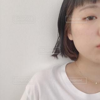 インナーカラーの写真・画像素材[1375049]