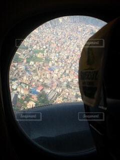 空から見た街並みの写真・画像素材[4699428]