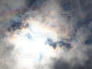 虹が見えた!!の写真・画像素材[4727663]
