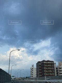 雨雲の写真・画像素材[4700831]