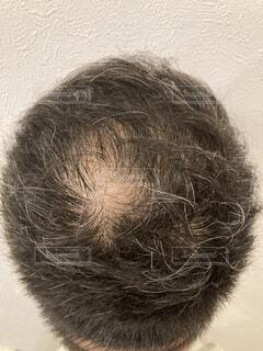 髪の毛をクローズアップするの写真・画像素材[4734700]