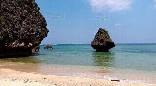 沖縄の海辺の写真・画像素材[4709234]