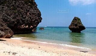 沖縄の海辺の写真・画像素材[4709236]