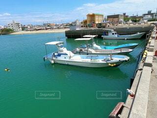 漁港と船の写真・画像素材[4709601]