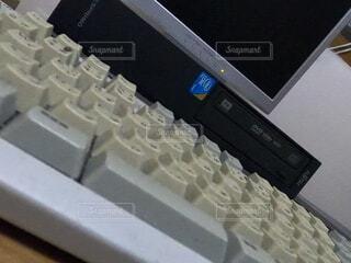 古いパソコンの写真・画像素材[4718518]