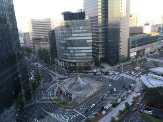 都市の空中写真の写真・画像素材[1381795]
