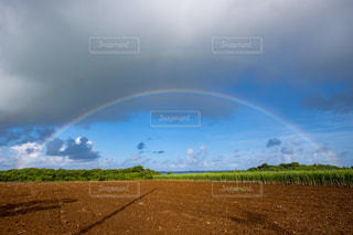 宮古島の2重の虹の写真・画像素材[1395043]