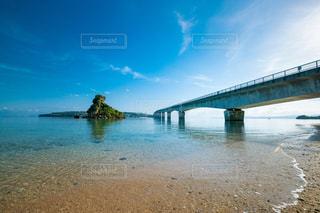 古宇利大橋の写真・画像素材[1404519]