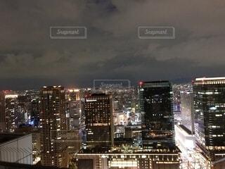 大阪の夜景の写真・画像素材[4704896]