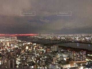 大阪の夜景の写真・画像素材[4704895]