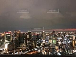 大阪の夜景の写真・画像素材[4704894]