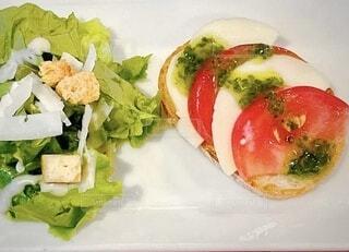 コース料理での前菜の写真・画像素材[4710275]