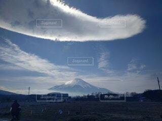 不思議な雲の写真・画像素材[4733951]