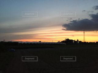 夕焼けの写真・画像素材[589776]