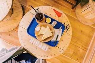おしゃれカフェのあさごはんの写真・画像素材[754709]