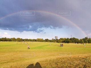 リージェンツパークの虹の写真・画像素材[4719049]