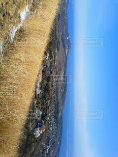 山からの水平線の写真・画像素材[4730846]