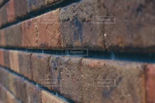 レンガ作りの建物クローズアップの写真・画像素材[4731740]