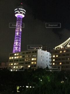 横浜マリンタワーの写真・画像素材[4736700]