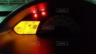 運転前の車内の写真の写真・画像素材[4756454]
